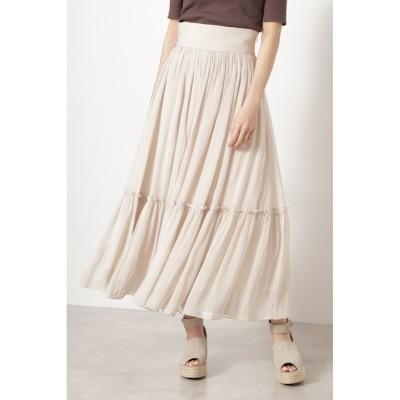 【ジルスチュアート/JILLSTUART】 ◆カロギャザースカート