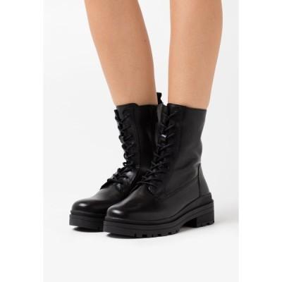 カプリス ブーツ&レインブーツ レディース シューズ Lace-up ankle boots - black