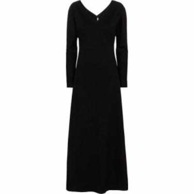 ザ ロウ The Row レディース ワンピース マキシ丈 ワンピース・ドレス clivia maxi dress Black