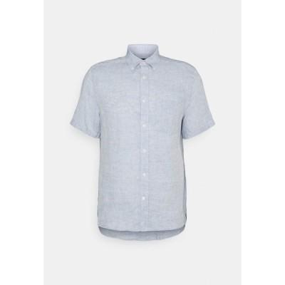 ジェイ リンドバーグ シャツ メンズ トップス Shirt - steel blue