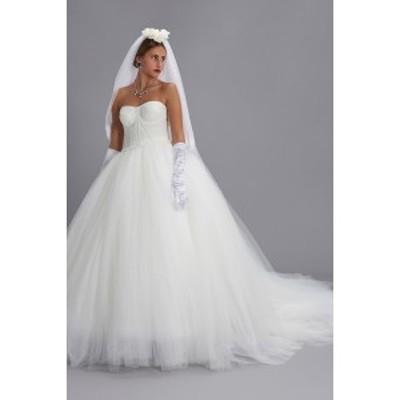 DOLCE&GABBANA/ドルチェ&ガッバーナ White Bride dress レディース 秋冬2019 F6G7ETHLM0UW0001 ju