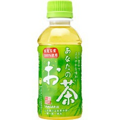 サンガリア あなたのお茶(200ml*30本)[緑茶]