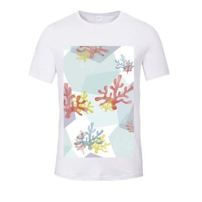 Tシャツ メンズ レディース キッズ 半袖 おしゃれ かわいい 沖縄デザイン サンゴ