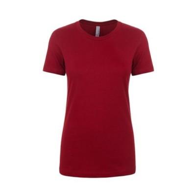 レディース 衣類 トップス Next Level Apparel Women's Crewneck Short Sleeve T-Shirt Style N1510 Tシャツ