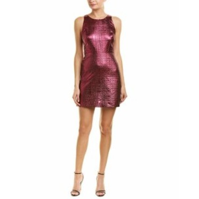 Milly ミリー ファッション ドレス Milly Lurex Jacquard A-Line Dress 0