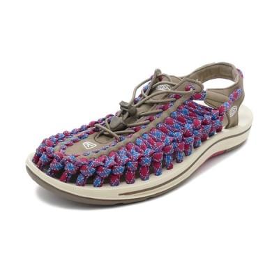 スニーカー キーン KEEN ユニーク フラット ウォルナット/クリムゾン 1020797 メンズ シューズ 靴