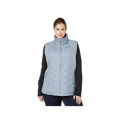 コロンビア Plus Size Heavenly Vest レディース コート アウター Tradewinds Grey