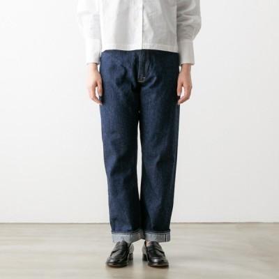 オアスロウ ハイライズ デニム パンツ Lady's High Rise Denim Pants 00-1040-81 orSlow レディース ストレート