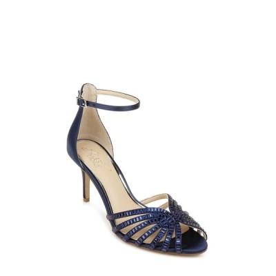 ジュウェルダグレイミシュカ サンダル シューズ レディース Women's Pixie Evening Sandal Navy Satin