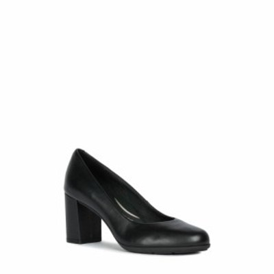 ジェオックス GEOX レディース パンプス シューズ・靴 Annya Pump Black Nappa Leather