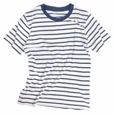 半袖 Tシャツ 子供 男の子 キッズ ボーダーTシャツ 子供服 110 120 130cm