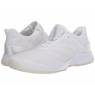 アディダス スニーカー シューズ レディース Adizero Club Footwear White/Footwear White/Footwear White