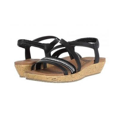 SKECHERS スケッチャーズ レディース 女性用 シューズ 靴 サンダル Brie - Midnight Shine - Black