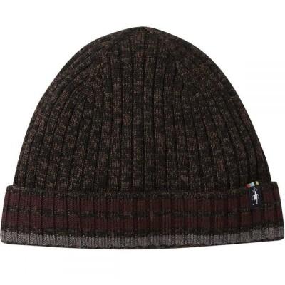 スマートウール Smartwool メンズ ニット ビーニー 帽子 Thunder Creek Beanie Bourbon/Black Marl