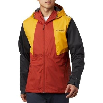コロンビア ジャケット&ブルゾン アウター メンズ Columbia Men's Inner Limits II Rain Jacket CrnlanRd/BrightGld/Shrk