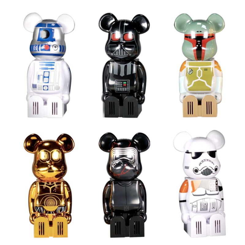 Bearbrick 積木熊 星際大戰 Star Wars 加護靈 聯名款系列 200%熊空氣清新器 盲盒 公仔 禮物