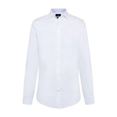 ハケット ポロシャツ メンズ トップス Hackett Soft Texture White