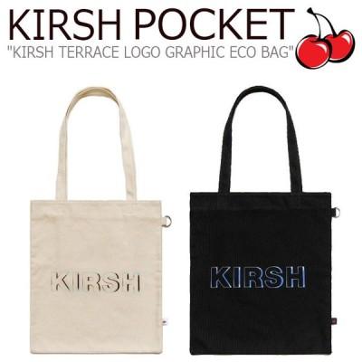 キルシーポケット ムシンサテラス トートバッグ KIRSH POCKET MUSINSA TERRACE LOGO GRAPHIC ECO BAG キルシー テラスロゴ グラフィック MT20SA00333/4 バッグ