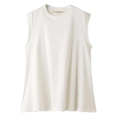 Shinzone シンゾーン フレアノースリーブTシャツ レディース ホワイト F