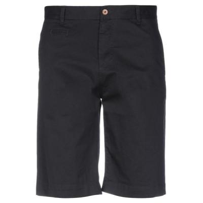 OFFICINA 36 ショートパンツ&バミューダパンツ  メンズファッション  ボトムス、パンツ  ショート、ハーフパンツ ブラック