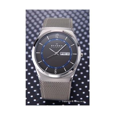 スカーゲン 腕時計 メンズ SKAGEN 時計 SKW6078 アクティブ グレー×ネイビー