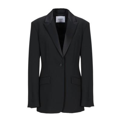 ドンダップ DONDUP テーラードジャケット ブラック 44 ポリエステル 73% / レーヨン 20% / ポリウレタン 7% テーラードジャケ