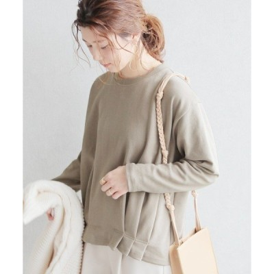 tシャツ Tシャツ 裾タックカットソー