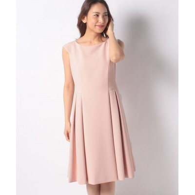 【ミス ジェイ】 シルキーストレッチ ドレス レディース ピンク 38 MISS J