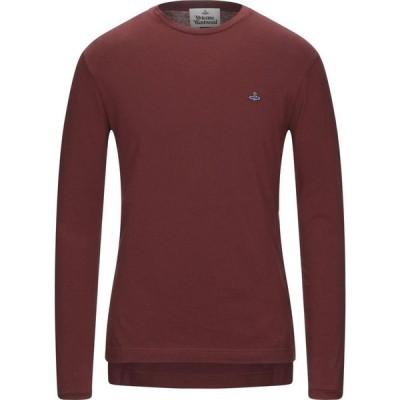 ヴィヴィアン ウエストウッド VIVIENNE WESTWOOD メンズ Tシャツ トップス T-Shirt Cocoa