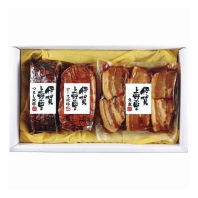 お歳暮ギフト メーカー・産地直送 伊賀上野の里 つるし焼豚&豚角煮セット SAG-35 販売期間~12/11 代引不可