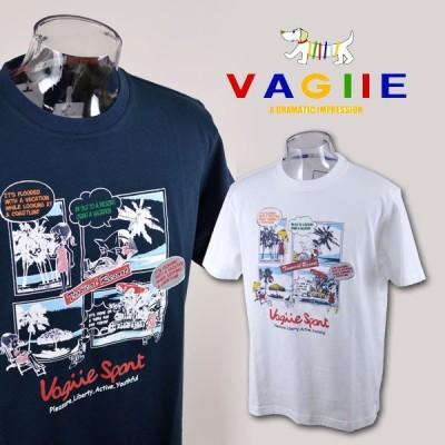 バジエ/半袖Tシャツ(M)(L)(LL) 8229-2552 VAGIIE