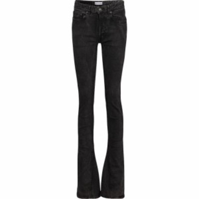 バレンシアガ Balenciaga レディース ジーンズ・デニム スキニー ボトムス・パンツ mid-rise skinny kick-flare jeans Charcoal