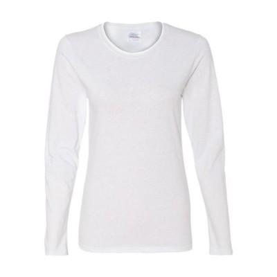 レディース 衣類 トップス Gildan - Heavy Cotton Women's Long Sleeve T-Shirt - 5400L Tシャツ