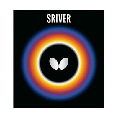 バタフライ(Butterfly) 卓球 裏ラバー スレイバー SRIVER ブラック 05050 278 卓球ラバー 卓球用品
