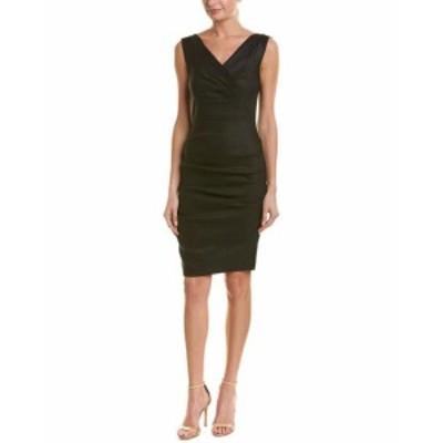 Nicole ニコール ファッション ドレス Nicole Miller Linen-Blend Sheath Dress 2
