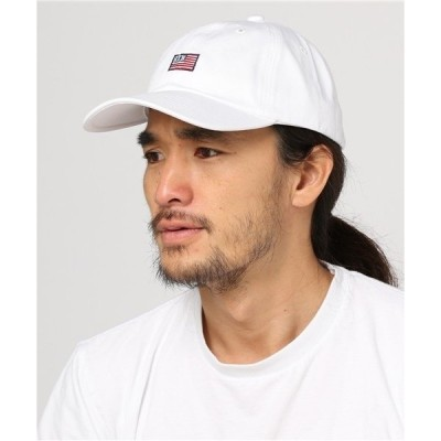帽子 キャップ 《BEN DAVIS》 LOW CAP AMERICAN FLAG EMBROIDERY