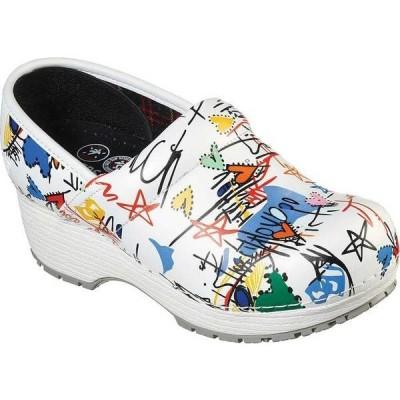 スケッチャーズ レディース ブーツ・レインブーツ シューズ Work Clog Slip Resistant Shoe