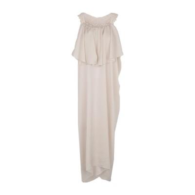 RAME 7分丈ワンピース・ドレス ライトグレー 2 ポリエステル 100% 7分丈ワンピース・ドレス