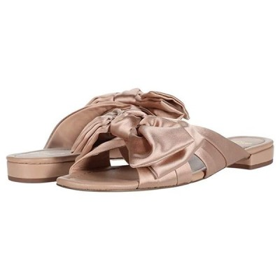 J.Crew Satin Bow Leather Lucy Slide レディース サンダル Blush