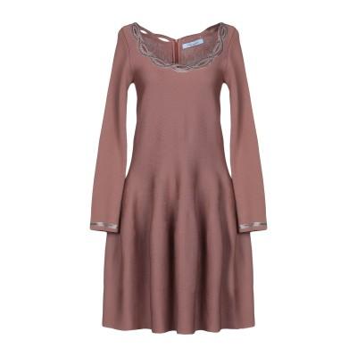 ブルマリン BLUMARINE ミニワンピース&ドレス ライトブラウン 38 バージンウール 100% ミニワンピース&ドレス
