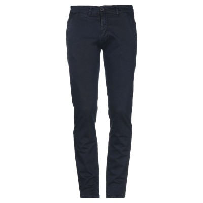 LIU •JO MAN パンツ ダークブルー 28 コットン 97% / ポリウレタン 3% パンツ