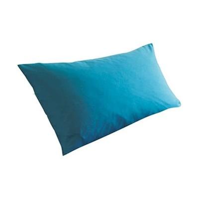 セシール-cecile-「丈夫でしっかり」綿ツイル枕カバー-ターコイズブルー-CR-726