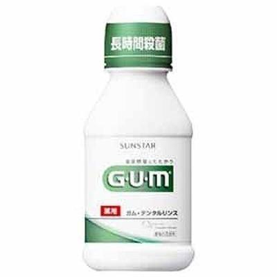 サンスター 「GUM(ガム)」デンタルリンス(80ml) GUMデンタルリンス80ミリR(80m