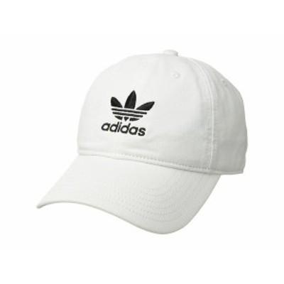 アディダス レディース 帽子 アクセサリー Originals Relaxed Strapback Cap White