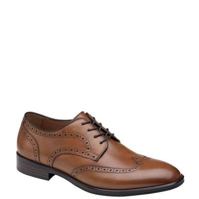 ジョンストンアンドマーフィー メンズ ドレスシューズ シューズ Men's Henrick Wingtip Shoes