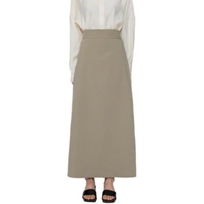 somedayif レディース スカート Hit straight maxi skirt