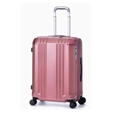 【送料無料】[エー・エル・アイ] スーツケース デカかる Edge 60.5 cm ピンクゴールド
