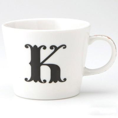 小倉陶器 アルファベット マグカップ K
