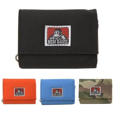 ベンデイビス BEN DAVIS 財布 CARD SIZE MINI WALLET ゴリラ メンズ レディース 三つ折り ユニセックス 男女兼用 bdw9312 ネコポスでお届け!