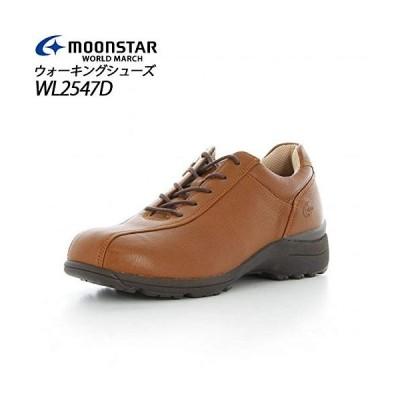 [ムーンスター] ウィメンズ ワールドマーチ WL2547D(ブラウン) WL2547D-BROWN 48597123 23.0cm